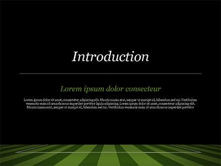 Soccer Ball On Eleven-meter Mark PowerPoint Template, Slide 3, 14825, Sports — PoweredTemplate.com