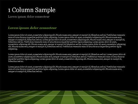 Soccer Ball On Eleven-meter Mark PowerPoint Template, Slide 4, 14825, Sports — PoweredTemplate.com