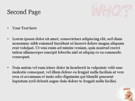 A Hand Writing Questions PowerPoint Template, Slide 2, 14829, Education & Training — PoweredTemplate.com