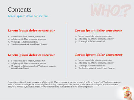 A Hand Writing Questions PowerPoint Template Slide 2