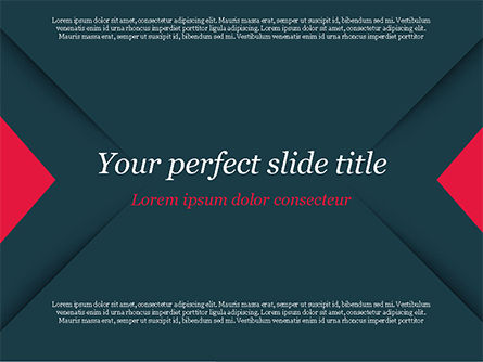 Geometrically Strict PowerPoint Template, 14831, Business — PoweredTemplate.com