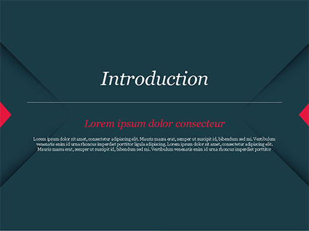 Geometrically Strict PowerPoint Template, Slide 3, 14831, Business — PoweredTemplate.com