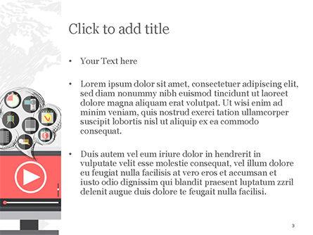 Video Marketing PowerPoint Template, Slide 3, 14832, Careers/Industry — PoweredTemplate.com