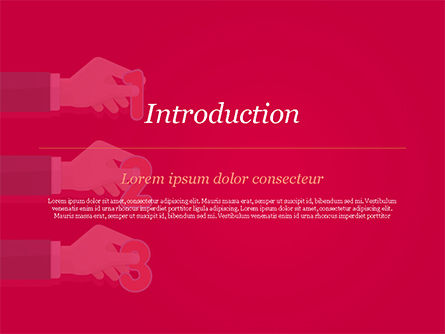 One Two and Three Numbers at Hands PowerPoint Template, Slide 3, 14833, 3D — PoweredTemplate.com