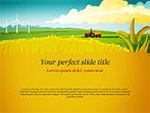 Agriculture: 田园田园景观PowerPoint模板 #14834