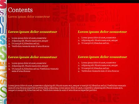 Sale Word Cloud PowerPoint Template, Slide 2, 14837, Careers/Industry — PoweredTemplate.com