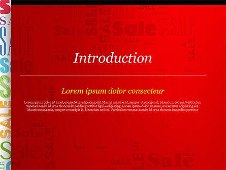 Sale Word Cloud PowerPoint Template, Slide 3, 14837, Careers/Industry — PoweredTemplate.com
