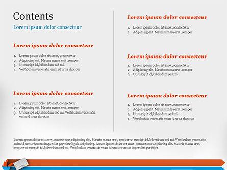 Credit Card Infographic PowerPoint Template, Slide 2, 14844, 3D — PoweredTemplate.com