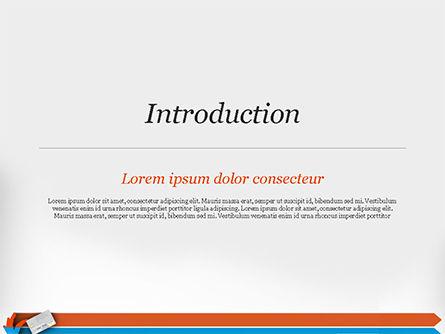 Credit Card Infographic PowerPoint Template, Slide 3, 14844, 3D — PoweredTemplate.com