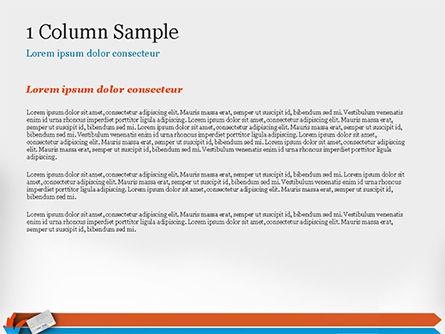 Credit Card Infographic PowerPoint Template, Slide 4, 14844, 3D — PoweredTemplate.com