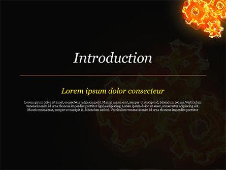 Fire Gear Mechanism PowerPoint Template Slide 3