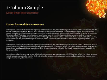 Fire Gear Mechanism PowerPoint Template Slide 4