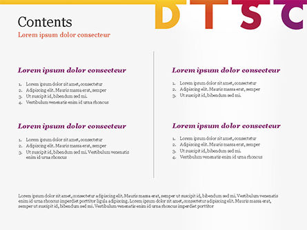 DISC Personality PowerPoint Template, Slide 2, 14846, Consulting — PoweredTemplate.com