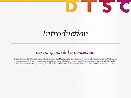 DISC Personality PowerPoint Template, Slide 3, 14846, Consulting — PoweredTemplate.com