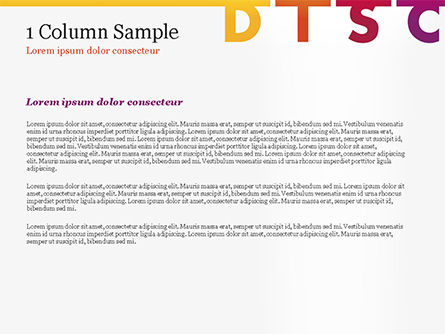 DISC Personality PowerPoint Template, Slide 4, 14846, Consulting — PoweredTemplate.com