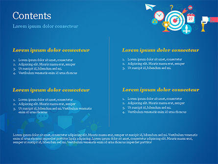Strategic Marketing Concept PowerPoint Template, Slide 2, 14856, Careers/Industry — PoweredTemplate.com