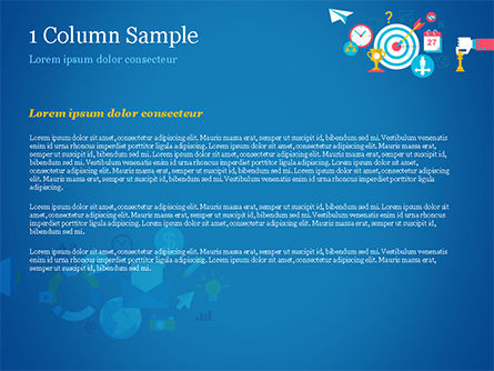 Strategic Marketing Concept PowerPoint Template, Slide 4, 14856, Careers/Industry — PoweredTemplate.com