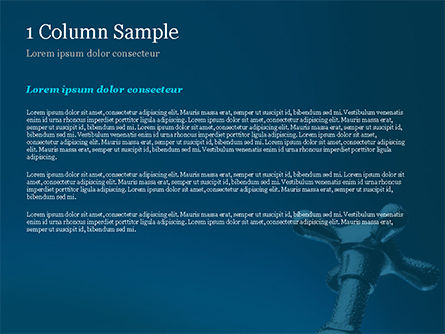 Cold Water Faucet PowerPoint Template, Slide 4, 14860, Utilities/Industrial — PoweredTemplate.com