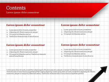 Diagonal Arrow PowerPoint Template Slide 2