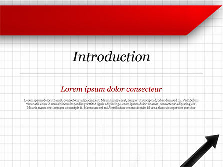 Diagonal Arrow PowerPoint Template Slide 3