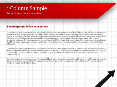 Diagonal Arrow PowerPoint Template Slide 4