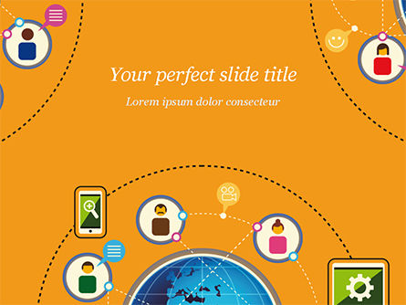 Social Network Concept PowerPoint Template