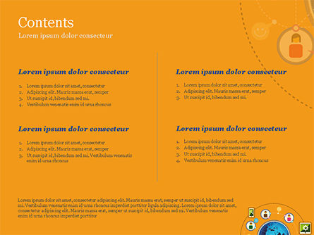 Social Network Concept PowerPoint Template Slide 2