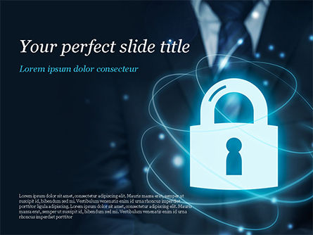Technology and Science: Data Protection Officer PowerPoint Template #14868