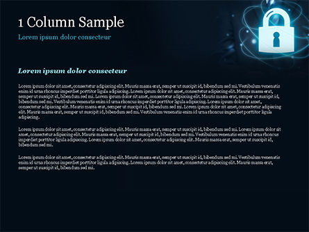 Data Protection Officer PowerPoint Template, Slide 4, 14868, Technology and Science — PoweredTemplate.com
