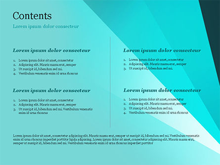 Abstract Rays Divergent PowerPoint Template Slide 2