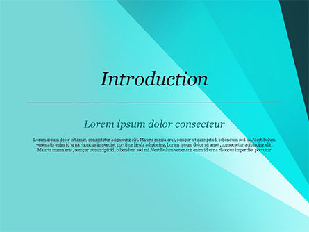 Abstract Rays Divergent PowerPoint Template Slide 3