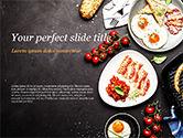 Food & Beverage: Modello PowerPoint - Cucinare una colazione #14874