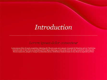 Soft Curves with Shadow PowerPoint Template Slide 3
