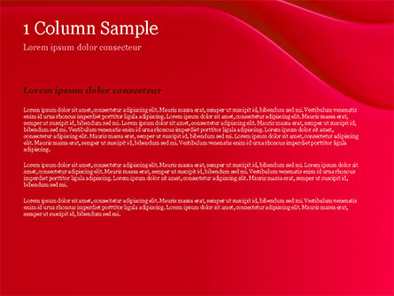 Soft Curves with Shadow PowerPoint Template Slide 4