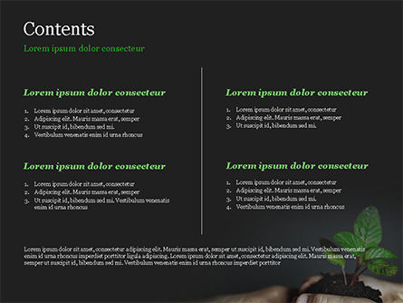 New Life Concept PowerPoint Template, Slide 2, 14881, Business Concepts — PoweredTemplate.com