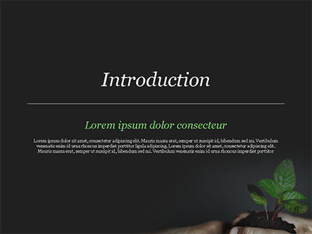 New Life Concept PowerPoint Template, Slide 3, 14881, Business Concepts — PoweredTemplate.com