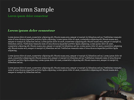 New Life Concept PowerPoint Template, Slide 4, 14881, Business Concepts — PoweredTemplate.com