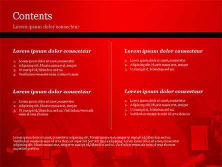 Meeting Corporate Brainstorming Teamwork Concept PowerPoint Template, Slide 2, 14887, Business — PoweredTemplate.com
