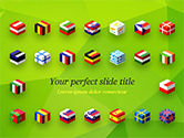 Flags/International: Europees Vlaggenconcept PowerPoint Template #14891