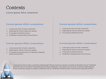 Rocket Ship is Ready to Launch PowerPoint Template Slide 2
