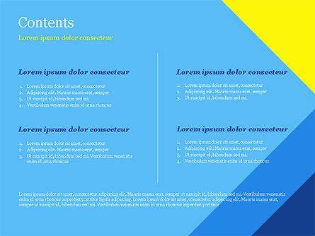 Modern Material Design Background PowerPoint Template, Slide 2, 14894, Abstract/Textures — PoweredTemplate.com