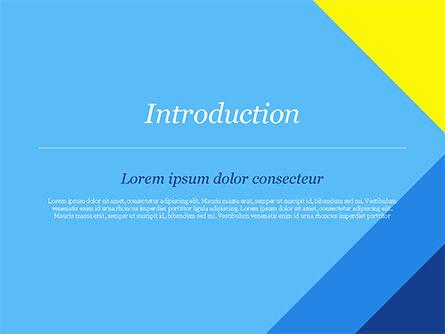 Modern Material Design Background PowerPoint Template, Slide 3, 14894, Abstract/Textures — PoweredTemplate.com