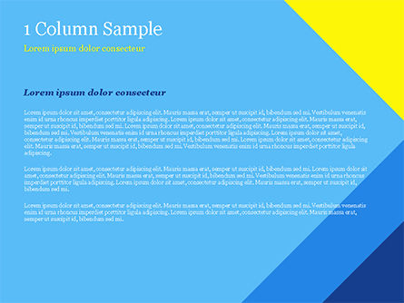 Modern Material Design Background PowerPoint Template, Slide 4, 14894, Abstract/Textures — PoweredTemplate.com