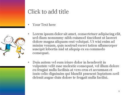Happy Children's Day PowerPoint Template, Slide 3, 14898, Education & Training — PoweredTemplate.com