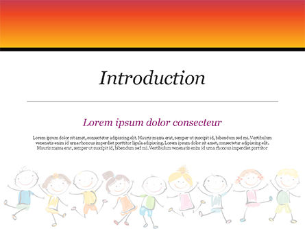 Happy Children's Day PowerPoint Template, Slide 3, 14898, Education & Training — PoweredTemplate.com