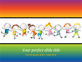 Education & Training: Gelukkige Kinderdag PowerPoint Template #14898