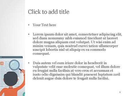 Information Search PowerPoint Template, Slide 3, 14900, Education & Training — PoweredTemplate.com