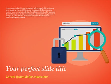 Consulting: Website Analysts PowerPoint Template #14908