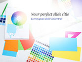 Careers/Industry: Graphic Design Tools PowerPoint Template #14911
