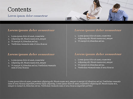 Consulting Services PowerPoint Template, Slide 2, 14912, Consulting — PoweredTemplate.com